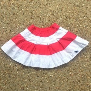 Abercrombie Kids Striped Layered Petticoat Skirt